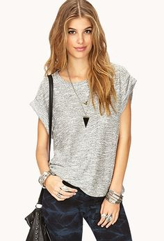 No-Fuss French Terry Top | FOREVER21 - 2000072663