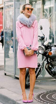 Natalie Joos pretty in pink