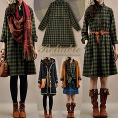 filleforetforestgirl:  No store ratings yet, but love these outfit combos!