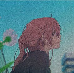 manga aesthetic black and white ; Sad Anime, Manga Anime, Haikyuu Manga, Anime Art Girl, Anime Girls, A Silent Voice Anime, Arte Do Kawaii, Image Manga, Anime Profile