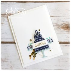 Hi stampers! I've been meaning to post this card all week but didn't like the photos I had so I had to wait until I remembered to take bri...