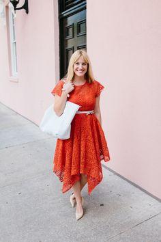 What I'm Wearing: Lace Dress