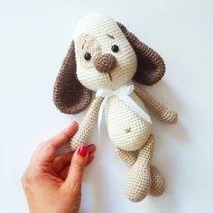 Mesmerizing Crochet an Amigurumi Rabbit Ideas. Lovely Crochet an Amigurumi Rabbit Ideas. Crochet Patterns Amigurumi, Amigurumi Doll, Crochet Dolls, Crochet Dog Patterns, Doll Patterns, Crochet Mignon, Love Crochet, Single Crochet, Crochet Animals