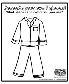 pigs in pajamas coloring pages - photo#42