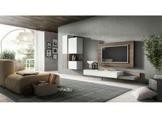 wandgestaltung wohnzimmer grau rot – Dumss.com | Pinterest ...