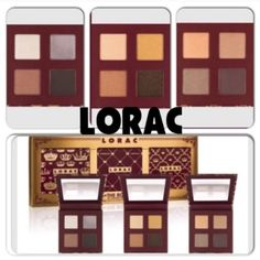 Lorca The Royal Eye Shadow Palette Set Lorac rules with The Royal Eye shadow Palette Set. This lavish trio contains 3 ultra-rich, color coordinated eyeshadow quads designed to create 3 Royal looks that are fit for a Queen; Plum Velvet, Gold Satin and Silver Silk. Total value of set is $161. BNIB. 100% Authentic. No Trades, No PP. Lorac Makeup Eyeshadow