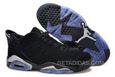 "best website 5ece0 5e171 New Air Jordan 6 Low GS ""Chrome"" Black Metallic Silver-White Discount  D7wWD, Price   92.00 - Adidas Shoes,Adidas Nmd,Superstar,Originals"