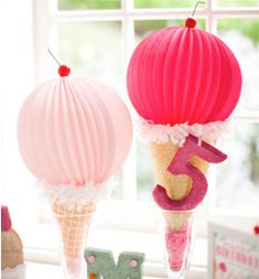 Ice Cream Shoppe Party Decorations