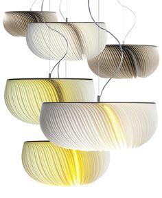 Die mit dem red dot design award ausgezeichnete Leuchte «Moonjelly» von Limpalux  Design: Anja Eder/Michael Romer