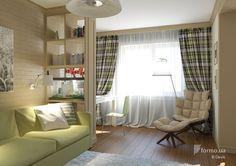 Дизайн интерьера маленькой квартиры, Devis, Гостиная, Дизайн интерьеров Formo.ua