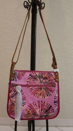 Fossil KeyPer Crossbody Pink Multi Shoulder Bag Raspberry Pink Shoulder Bag 2289 #Fossil #ShoulderBag