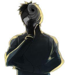obito. tobi. akatsuki. mask.