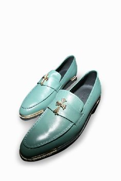 Brogue Fashion Shoes In Mint. Free 3-7 days expedited shipping to U.S. Free first class word wide shipping. Customer service: help@moooh.net