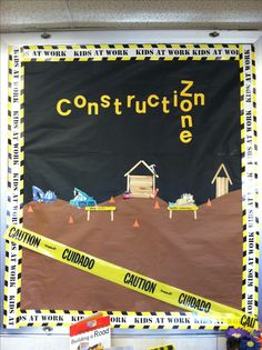 Construction theme board :)