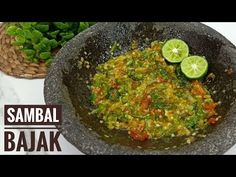 Resep sambal bajak pedes seger banget !! Cr cook - YouTube Chicken Wraps, Weekly Menu, Chili Recipes, Guacamole, The Creator, Make It Yourself, Cooking, Ethnic Recipes, Youtube