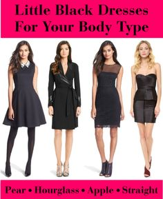 Little Black Dresses For Your Body Type - The Best LBD For Your Shape
