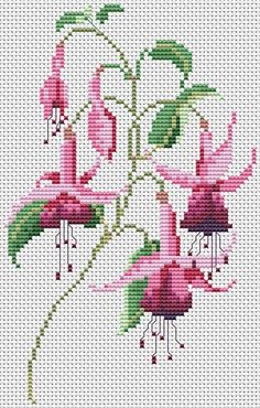 This Pin was discovered by ays Cross Stitch Heart, Cross Stitch Flowers, Cross Stitch Kits, Beading Patterns, Flower Patterns, Embroidery Patterns, Cross Stitching, Cross Stitch Embroidery, Hand Embroidery