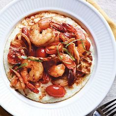 Spicy Shrimp and Grits | CookingLight.com