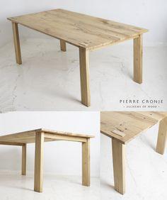 Pierre Cronje Loft Dining Table in French Oak