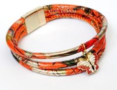 gold autumn bracelet