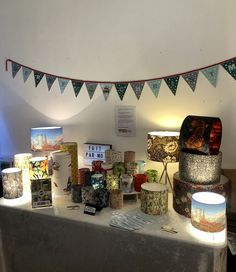 Bespoke handmade lampshades and artisan housewares by FaitparMoiUK Handmade Lampshades, Standard Lamps, Together We Can, Cool Fabric, William Morris, Health And Wellbeing, Vintage Furniture, Are You Happy, Really Cool Stuff