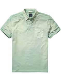 Chest Pocket Polo Shirt |Polo's|Men Clothing at Scotch & Soda