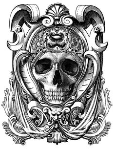 Beautiful Death | Illustrated Monthly