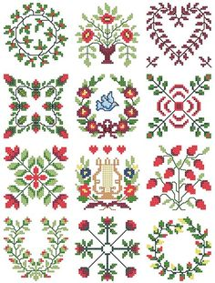 Free Cross Stitch Patterns | Free Cross Stitch Patterns – Download and print FREE counted cross