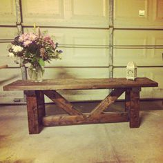Providence Bench | Do It Yourself Home Projects from Ana White