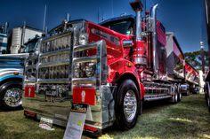 Kenworth T909 by Peter C Francis, via Flickr
