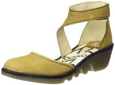 FLY London Womens Piat Wedge Pump * Continue to the product at the image link.
