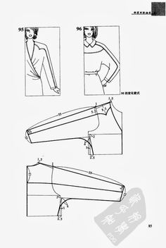 One-piece sleeve .Basic construction, models - SSvetLanaV - Picasa Web Albums