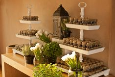 herb themed wedding-rustic wedding decoration 11