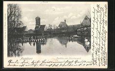 weitere Ansichten Augsburg   old Postcards