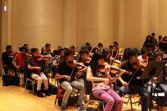 Curso de verano del programa de orquestas y coros juveniles delegacionales.