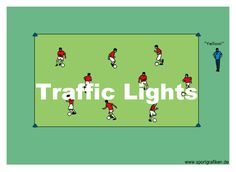 http://www.top-soccer-drills.com/traffic-lights.html #KidsSoccerTrainingDrills #Kids #Soccer #Training #Drills