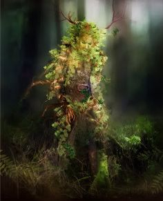 The Green Man motif has many variations. Found in many cultures from many ages around the world, the Green Man is often related to natural vegetative deities. It is primarily interpreted as a symbol of rebirth, representing the cycle of growth each spring.