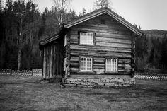 Old farm house in Kvitseid