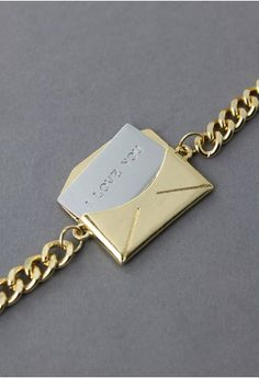 Love Letter Bracelet--seems appropriate for today