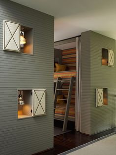 Aménager une chambre d'enfant comme un dortoir - Arch and Home