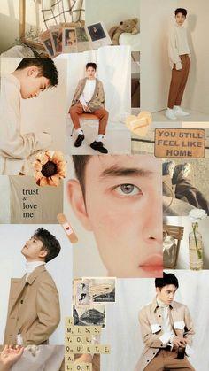 Kyungsoo, Kaisoo, Exo Chanyeol, D O Exo, Exo Album, Exo Fan Art, Exo Lockscreen, Kpop Aesthetic, K Pop