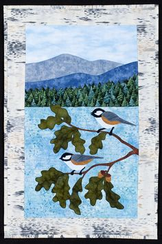 "Chick and Dee pattern, 16 x 25"", by Sue Pritt at Sweet Season Quilts"