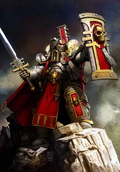 Warhammer 40K Crusader Inquisitor