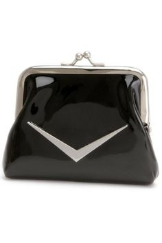 Shiny Black Coin Purse by Lux de Ville | Bags | Shiny Black  I have this one!