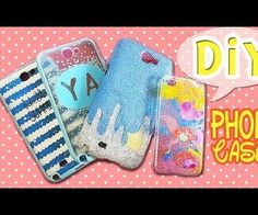 DIY Phone Cases! Easy and fun! #diy #phonecover
