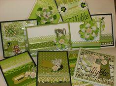 Lime grønne kort
