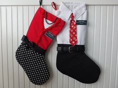 Great for Missionary Couples! Wonderful handmade Christmas stockings for your favorite Missionaries! Fill them with goodies and gifts from home. What a great way to make their holiday even brighter!  Various tie and Sister stocking colors available - just click Request Custom Order and let me know what you would like.  Personalized tags with choice of either:  • Missionarys name and mission location  OR  • Missionarys name and church name  Stockings are fully lined and have laminated…
