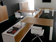 Rectangular office desk AGORA'   Office desk - Brunoffice