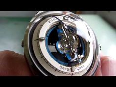 Vianney Halter Deep Space from Baselworld 2013 - YouTube