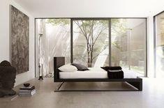 Urano Bedroom Furniture–Design of Minimalist Bed by Leonardol Daineli Minimalist Home Decor, Minimalist Interior, Minimalist Bedroom, Modern Interior, Interior Design, Minimalist Design, Modern Minimalist, Asian Interior, Minimalist Kitchen